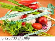 Mixed vegetables. Стоковое фото, фотограф Olga Eremina / PantherMedia / Фотобанк Лори
