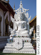 White Buddha. Стоковое фото, фотограф Honey Bee / PantherMedia / Фотобанк Лори