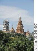 THAILAND KANCHANABURI WAT THAM SUA TEMPLE. Стоковое фото, фотограф ursa lexander flueler / PantherMedia / Фотобанк Лори