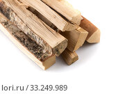 Купить «Stack of cut logs firewood», фото № 33249989, снято 6 июля 2020 г. (c) PantherMedia / Фотобанк Лори