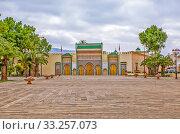 Королевский дворец. Фес. Марокко (2013 год). Редакционное фото, фотограф Сергей Афанасьев / Фотобанк Лори