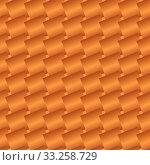 Seamless Brown Abstract Metallic Pattern from Rectangle Intersections. Стоковая иллюстрация, иллюстратор Sebnem Koken / PantherMedia / Фотобанк Лори
