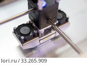 A process of 3D printing an element with a 3d printer. Стоковое фото, фотограф Zoonar.com/Cylonphoto / age Fotostock / Фотобанк Лори