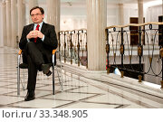 04.01.2013 Warszawa Sejm Fot. Andrzejewski Maciej N/z Zbigniew Ziobro. Редакционное фото, фотограф Brykczynski Donat / age Fotostock / Фотобанк Лори