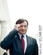 N/z Zbigniew Ziobro 11.01.2013 Warszawa, Sejm. Редакционное фото, фотограф Andrzejewski Maciej / age Fotostock / Фотобанк Лори