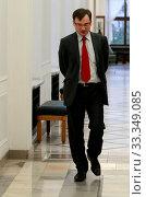 Warszawa 02.12.2009 n/z Zbigniew Ziobro posel PiS fot. Henryk Jackowski. Редакционное фото, фотограф jackowski henryk / age Fotostock / Фотобанк Лори