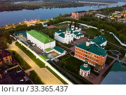 Купить «Evening view of Spaso-Preobrazhensky monastery in Murom», фото № 33365437, снято 8 мая 2019 г. (c) Яков Филимонов / Фотобанк Лори