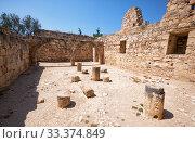 Купить «The ruins of Kolossi Castle. Kolossi. Limassol District. Cyprus», фото № 33374849, снято 12 июня 2018 г. (c) Serg Zastavkin / Фотобанк Лори