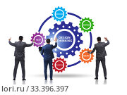 Купить «Design thinking concept in software development», фото № 33396397, снято 2 июня 2020 г. (c) Elnur / Фотобанк Лори