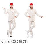 Купить «Man in traditional turkish hat and dress», фото № 33398721, снято 22 октября 2013 г. (c) Elnur / Фотобанк Лори