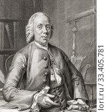 Купить «Nicolaas Simon van Winter, 1718 - 1795, Dutch businessman,playwright and poet.», фото № 33405781, снято 28 мая 2020 г. (c) age Fotostock / Фотобанк Лори
