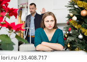 Business trip on Christmas holidays. Стоковое фото, фотограф Яков Филимонов / Фотобанк Лори