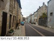 Купить «Image of Bligny-sur-Ouche city historical streets and building», фото № 33408953, снято 12 октября 2018 г. (c) Яков Филимонов / Фотобанк Лори