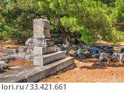Купить «Ruins of the Ancient city Priene in Turkey», фото № 33421661, снято 20 июля 2019 г. (c) Sergii Zarev / Фотобанк Лори