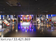 Купить «The Memorial Museum of Cosmonautics (Museum of Astronautics or Memorial Museum of Space Exploration) is a museum in Moscow, Russia, dedicated to space exploration», фото № 33421869, снято 17 октября 2019 г. (c) Владимир Журавлев / Фотобанк Лори