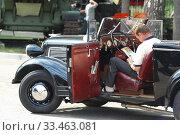 Купить «Кабриолет Opel Super 6 в музее техники Вадима Задорожного», фото № 33463081, снято 6 августа 2011 г. (c) Алёшина Оксана / Фотобанк Лори