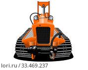 Купить «Vector Cartoon RC crawler isolated», иллюстрация № 33469237 (c) Александр Володин / Фотобанк Лори
