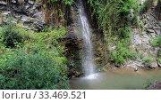 Купить «Petras Androginou waterfall in the Kakopetria town. Nicosia District. Cyprus», видеоролик № 33469521, снято 29 марта 2020 г. (c) Serg Zastavkin / Фотобанк Лори