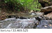 Купить «Rriver Clarios near Kakopetria. Cyprus», видеоролик № 33469525, снято 30 марта 2020 г. (c) Serg Zastavkin / Фотобанк Лори