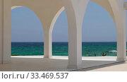 Купить «Ayia Thekla Chapel. Ayia Napa. Cyprus», видеоролик № 33469537, снято 30 марта 2020 г. (c) Serg Zastavkin / Фотобанк Лори