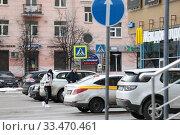 Купить «Балашиха, пустая улица в дни пандемии Коронавируса COVID-19», эксклюзивное фото № 33470461, снято 1 апреля 2020 г. (c) Дмитрий Неумоин / Фотобанк Лори