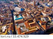 Купить «Aerial view of Padua, Italy», фото № 33474929, снято 5 сентября 2019 г. (c) Яков Филимонов / Фотобанк Лори