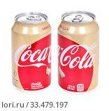 Купить «Coca-Cola Vanilla», фото № 33479197, снято 29 марта 2020 г. (c) Art Konovalov / Фотобанк Лори