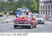 Купить «Cuban style wedding, Havana, Cuba.», фото № 33492697, снято 6 марта 2020 г. (c) age Fotostock / Фотобанк Лори