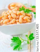 Купить «White bean», фото № 33517405, снято 9 апреля 2020 г. (c) age Fotostock / Фотобанк Лори