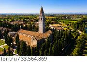 Basilica di Santa Maria Assunta, Aquileia (2019 год). Стоковое фото, фотограф Яков Филимонов / Фотобанк Лори