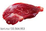Купить «Raw beef entrecote with rosemary», фото № 33564953, снято 30 мая 2020 г. (c) Яков Филимонов / Фотобанк Лори