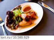 Thai shrimp spring rolls. Стоковое фото, фотограф Яков Филимонов / Фотобанк Лори