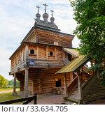 Церковь Святого великомученика Георгия Победоносца. Коломенское, Москва (2018 год). Редакционное фото, фотограф Александр Щепин / Фотобанк Лори