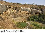 Купить «India, Maharashtra, World Heritage Site, Ellora caves.», фото № 33641165, снято 17 февраля 2020 г. (c) age Fotostock / Фотобанк Лори