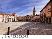Купить «Plaza Mayor - Main square. Arcaded square, typical Castilian architecture. Medinaceli, Soria, Castilla y León, Spain, Europe.», фото № 33653073, снято 22 февраля 2020 г. (c) age Fotostock / Фотобанк Лори