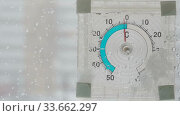 Купить «Blizzard in an urban environment. Abstract blurry winter weather background», видеоролик № 33662297, снято 29 апреля 2020 г. (c) Алексей Кокорин / Фотобанк Лори