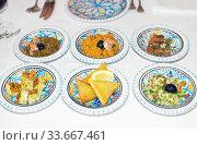 Традиционные тунисские закуски (2015 год). Стоковое фото, фотограф Инна Грязнова / Фотобанк Лори