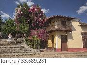 Купить «Street scenes from UNESCO World Heritage Trinidad, Cuba.», фото № 33689281, снято 19 марта 2020 г. (c) age Fotostock / Фотобанк Лори