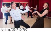 Купить «People dancing twist», фото № 33710797, снято 24 мая 2017 г. (c) Яков Филимонов / Фотобанк Лори