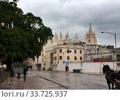 Купить «Cuba. Streets of Old Havana.», фото № 33725937, снято 27 января 2013 г. (c) Вознесенская Ольга / Фотобанк Лори