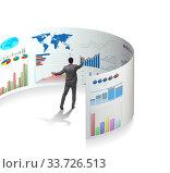 Купить «Concept of business charts and finance visualisation», фото № 33726513, снято 10 июля 2020 г. (c) Elnur / Фотобанк Лори