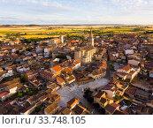 Santa Maria church of Medina de Rioseco. Valladolid province. Castilla y Leon. Spain (2019 год). Стоковое фото, фотограф Яков Филимонов / Фотобанк Лори