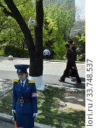 Купить «Pyongyang, North Korea», фото № 33748537, снято 1 мая 2019 г. (c) Знаменский Олег / Фотобанк Лори