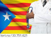 Concept of national healthcare system - Estelada - Catalonia. Стоковое фото, фотограф Zoonar.com/Siarhei Tsalko / age Fotostock / Фотобанк Лори