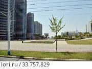 Купить «North Korea, Pyongyang», фото № 33757829, снято 1 мая 2019 г. (c) Знаменский Олег / Фотобанк Лори