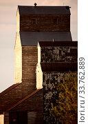 Купить «Grain Elevator Saskatchewan Canada Prairie Scene Summer», фото № 33762889, снято 1 июня 2020 г. (c) age Fotostock / Фотобанк Лори