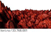 Купить «Cosmic abstract landscape. 3d render illustration», фото № 33768001, снято 27 мая 2020 г. (c) easy Fotostock / Фотобанк Лори