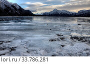 Купить «Abraham Lake Winter Ice formations bubbles design», фото № 33786281, снято 1 июня 2020 г. (c) age Fotostock / Фотобанк Лори