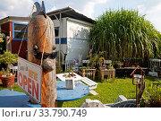 Купить «Campingplatz Steger im Sommer, Witten, Ruhrgebiet, Nordrhein-Westfalen, Deutschland, Europa», фото № 33790749, снято 25 мая 2020 г. (c) age Fotostock / Фотобанк Лори