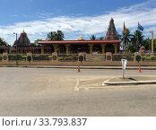 Индуистский храм на острове Фиджи (2019 год). Редакционное фото, фотограф Юрий Хабаров / Фотобанк Лори